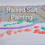 Raised Salt Painting