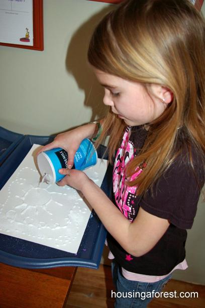 Поднятый Соль дети Картина ~ люблю смотреть акварели путешествие по соли.  Немного искусства и немного науки!