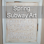 Spring Subway Art