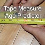 Tape Measure Age Predictor