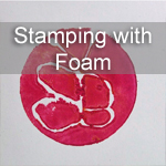 Stamping with foam