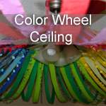 Color Wheel Ceiling