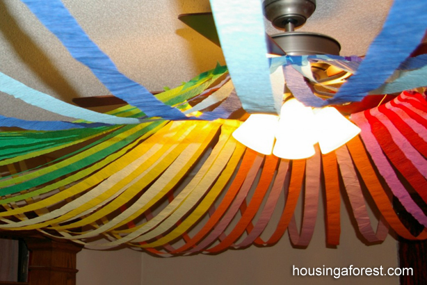 Color Wheel Ceiling Housing A Forest