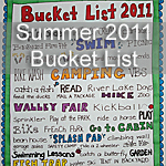 Summer 2011 Bucket List