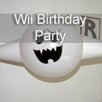 Wii Birthday Party