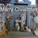 Merry Christmas – Willow Tree Nativity