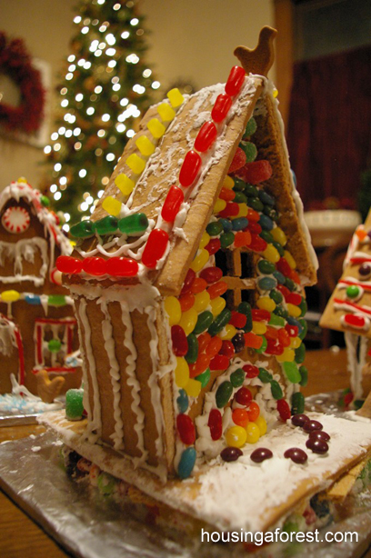 Gingerbread House Decorating Party Housing A Forest