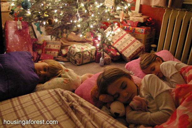 christmas morning - How To Go To Sleep On Christmas Eve