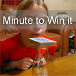 Minute To Win It Family Night # 1