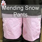 Mending Snow Pants