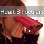 Heart Shaped Binoculars