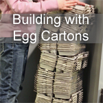 Building with Egg Cartons
