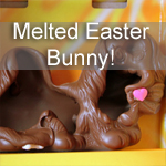 Poor Chocolate Easter Bunny!