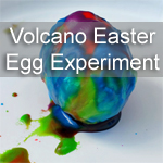 Volcano Easter Egg Experiment