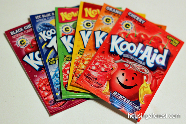 Kool Aid Coloring Pages
