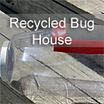 Recycled Bug Houses
