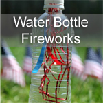 Water Bottle Fireworks