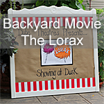 Backyard Movie Night – The Lorax