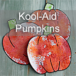 Kool-Aid Pumpkins