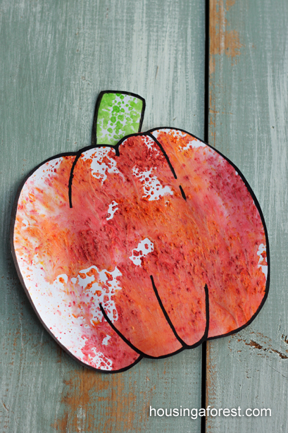 Kool-Aid Pumpkin craft ~ simple fall play recipe that smells great!