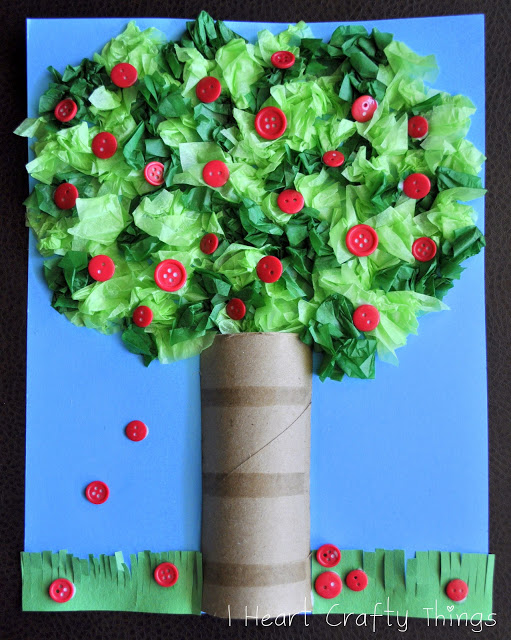 Как сделать поделку дерево