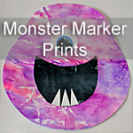Monster Marker Prints