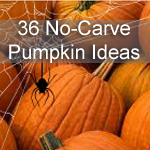 36 Creative No-Carve Pumpkins