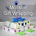 Monster Gift Wrapping