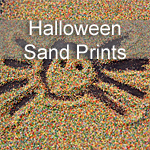 Halloween Sand Prints