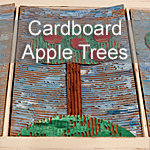 Cardboard Apple Trees