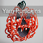 Yarn Pumpkins - Housing A Forest