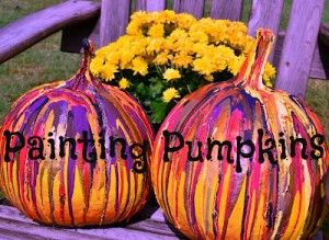 36 creative no carve pumpkins housing a forest Easy pumpkin painting patterns