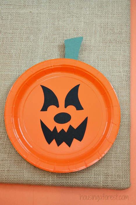Paper Plate Jackolantern The EASIEST Halloween Pumpkin Craft For Kids