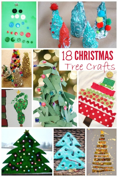 18 Christmas Tree Crafts Housing A Forest