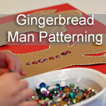 Gingerbread Man Patterning Activity