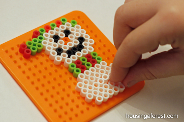 Perler Bead Ornaments – Housing a Forest