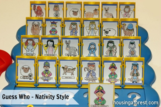 Guess Who - Nativity Style Game