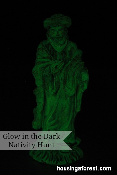 Glow In The Dark Nativity Hunt