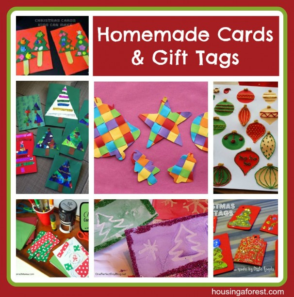 Homemade Cards and Gift Tags