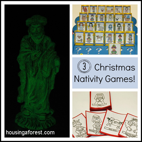 Creative Nativity Games your kids will love!