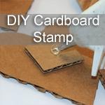 DIY Cardboard Stamp