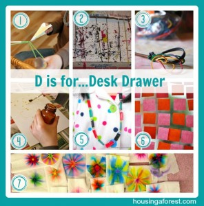 D is for...Desk Drawer