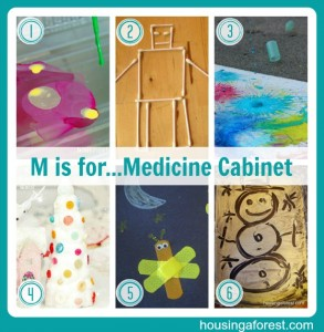 M is for...Medicine Cabinet