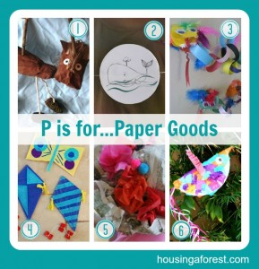 P is for...Paper Goods