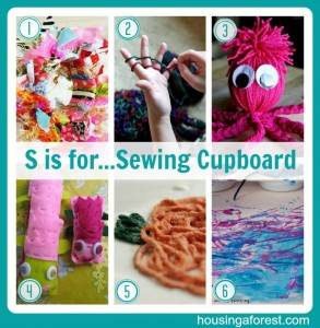 S is for...Sewing Cupboard