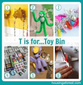 T is for Toy...Bin