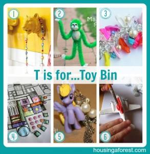 T is for Toy...Bin