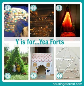 Y is for...Yea Forts