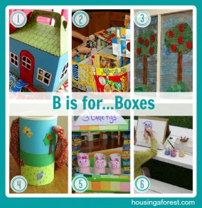 B is for...Boxes