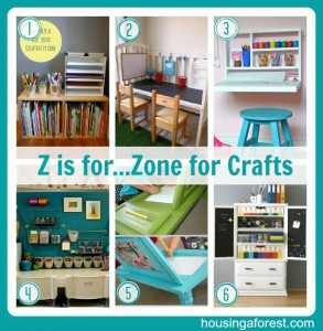 Z is for...Zone for Crafts